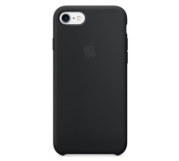 Silicone Case iPhone 7/8 black