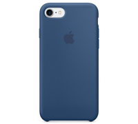 Silicone Case iPhone 7 Blue