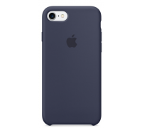 Silicone Case iPhone 7 Deep Blue