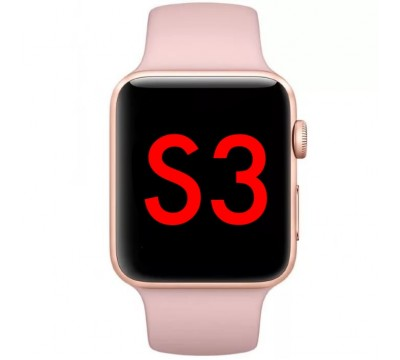 Apple Watch Series 3 42mm Gold Pink