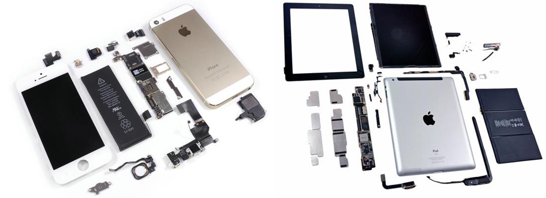 Ремонт iPhone, iPad любой сложности.